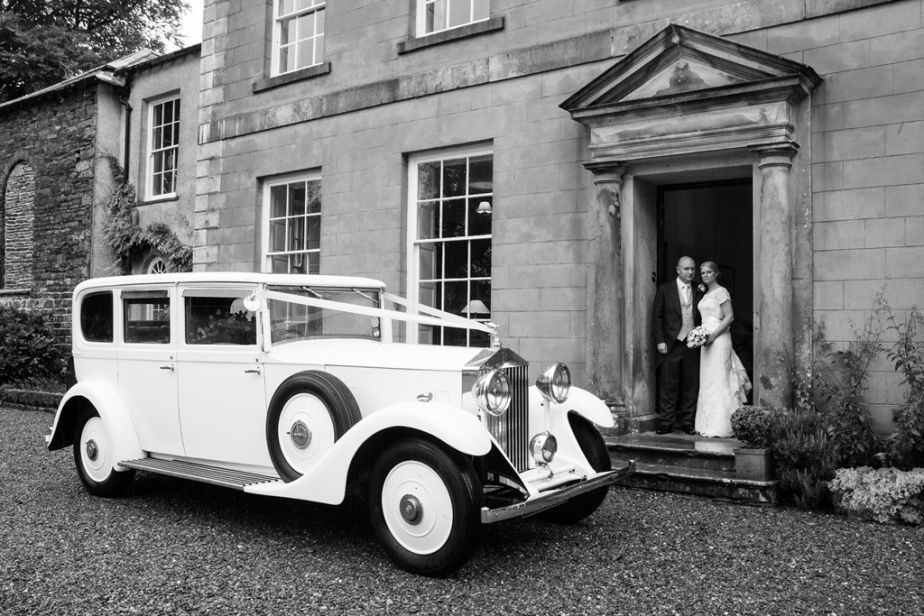 Katie and Murray just married at Belmount Hall