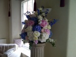 Wedding flowers by Catherine